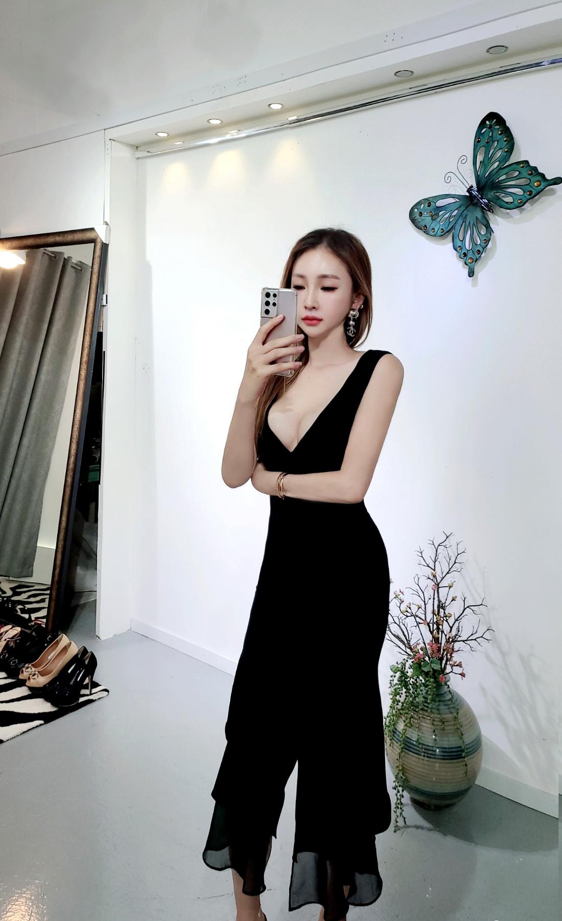 드레스 모델 착용 이미지-S1L24